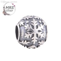 Cheap Wholesale-Love Aunt Silver 925 Hollow Charm European Beads Compatible With Silver Snake Chain Brand Sale Lucky Love Fine Jewelry T045 Z15