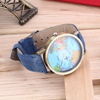 airplane belt buckles - Women Men Unisex Fashion Vine Casual World Map watch By Airplane belt Dial Analog Quartz Wrist Watch for Children and adults