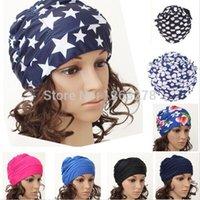 Wholesale NEW retail Colors Fashion Ladies Womens Swimming Hat Swim Bathing Cap Turban Elasticated