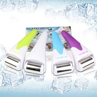 Wholesale Cold hammer equipment cold treatment skin care device four color with metal head is great treatment