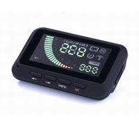 Wholesale 3pcs safe driving overspeed warning alarm car electronics hud head up display