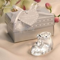 baby bootie favors - Fashioncraft s own Choice Crystal baby bootie favors baby shower