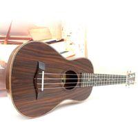 acoustic guitars music - Professional inch Acoustic Soprano Ukulele Guitar Music Instrument Wood Guitar Rosewood Ukulele Hawaii Guitar High Quality