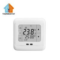 Wholesale New Arrival Weekly Digital White LCD Display Programmable Room Floor Heating Thermostat Powerful Anti Jamming