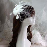 antique lace veils - Elegant Headpieces Hot Sales Flower Veils Fashion Headbands For Women Luxury Jewelry For Wedding Party Cheap Wedding Veils Hairstyles