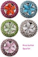 Wholesale D02226 Rivca button for noosa bracelet noosa snaps copper button noosa chunk