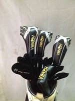 Wholesale 13PCS Full set Star Golf clubs Honma beres S driver S fairway woods Honma Beres IS golf Irons AS Putter