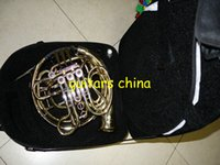 Wholesale NEW CTE Brand key double French Horn Golden