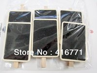 Wholesale By CPAM Mini Wooden Blackboard Clips Creative Idea Of Left Message Or Decoration Picture To Good Memory