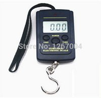 Cheap Wholesale-60pcs 20g-40Kg Digital Hanging Luggage Fishing Weight Scale