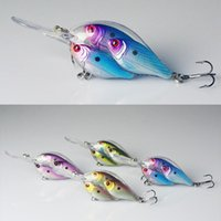 live fishing bait - Crank Fishing Lure Shad Live Fish Bait Ball Threadfin Bass Fishing D Multiple Flash Profiles CM G