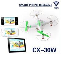 Cheerson CX-30W WIFI RC Quadcopter Hélicoptère Wifi Smart Phone Drone Contrôle Avec Caméra HD Vidéo en temps réel Mini WIFI RC Quadcopter