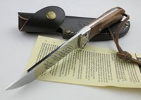 Wholesale Hot Sale Oem Browning Shadow Wood Hunting Knife Camping tool Survival Knife Outdoor