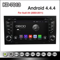 audi a4 gps navigation - Pure Android Dual Din inch Car DVD Player for Audi A4 GPS Navigation Radio TV BT USB AUX G WIFI DVR Audio Stereo with Canbus