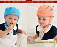 Wholesale 2015 Baby Toddler Safety Helmet Headguard Children Hats Cap Harnesses Gift Adjustable Colorful