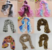 Wholesale Cheap Leopard Animal Animal Print Light Hot Women s Scarves Infinity Stylish Scarf Girl s Pashmina Shawl Wrap Lady s Long Neckerchief