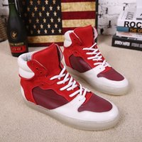 arena rubber boots - 2016 men sneakers genuine leather shoes Fashion and Designers quality Arena High high top trainers