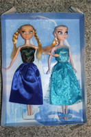 Wholesale Frozen Brand Boneca Frozen Dolls Classic Doll Toy Kids Gift Queen Elsa Princess Anna Cute Olaf In Retail set Elsa Anna