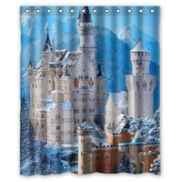 bathroom shower pictures - Bath Curtain Beautiful Scenery Castle Picture Shower Curtains Mouldproof Waterproof Bathroom Curtain quot x quot