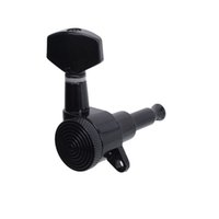 Wholesale 1PC R Black Locked String Guitar Tuning Pegs keys Tuners Machine Heads for strat Style Electric Guitar MU0805