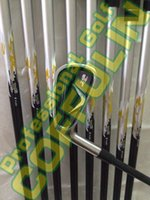 Cheap 2014 Left Hand X2 HOT PRO Golf Irons With R300 Steel Shafts Golf Clubs #4-9PAS