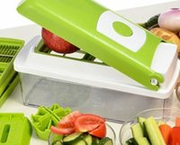Wholesale 12 Vegetable Fruit Peeler Cutter Multifunction Kitchen Chopper Slicer Tools TY676 cooking tools kitchen accessories cozinha cocina