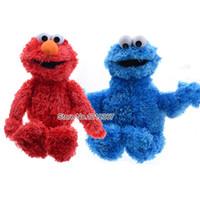 baby elmo - NEW high quality Sesame Street Stuffed Plush Toys cm Elmo Cookie Monster Oscar Baby Sesame Plush Doll for Christmas gift