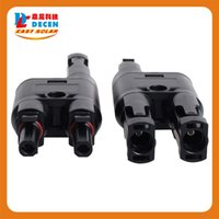 solar generator - DECEN Pairs H Type MC4 Style Branch Connectors With CE TUV Be Used Solar Generator System Fedex