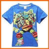 teenage fashion - Fashion TMNT T shirt short sleeve T shirts Teenage Mutant Ninja Turtles kids shirt summer kids fashion hoodie children clothing