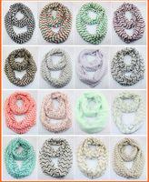 chevron scarves - cheveon infinity scarf Chevron Wave Printing infinity scarf scarfs Christmas gifts DHL ship