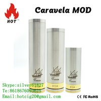 Wholesale Hotcig blu electronic cigarette original caravela mod clone with top quality wholeale price