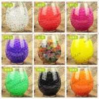 Wholesale 1200 Crystal Mud Soil Water Beads Bio Gel Ball For Flower Weeding Decor