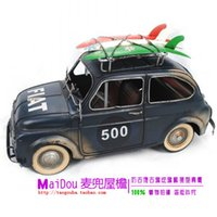 antique fiat - Metal classic cars antique model cars bl blue fiat photography props