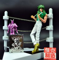 arena products - In Stock Jacksdo Saint Seiya Myth Cloth Andromeda Shun Action figure Toy Model With Arena