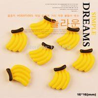 Cheap Kawaii sweets cabochon decoden diy deco charm mix Sweet banana phone case deco100pcs