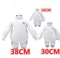 stuffed animals - Super Heros toys Baymax Robot Hands Moveable Stuffed Plush Animals Toys size Big hero Christmas Gifts for kids children popular toy