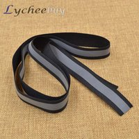 Wholesale M High Quanlity DIY Safety Warning Reflective Strip Tape Sticker Adhesive Tape