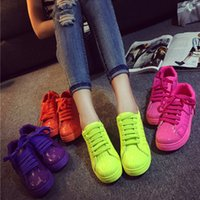 shell sandal - 2015 shell head sneaker shoes women leisure flat sandals round head sport running shoes