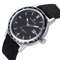 Dress imports - Men s high end leisure Roman dial watch NAVIFORCE product import waterproof movement quartz watch imported from Japan