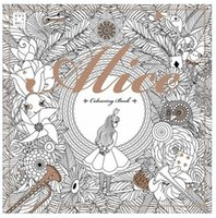 alice in wonderland book - Alice In Wonderland Colouring Book Secret Garden Style Coloring Book Relieve Stress Kill Time Graffiti Painting Drawing Book