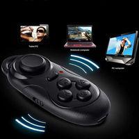 Wholesale Joystick Simulator self timer Selfie Controller Mini Universal Wireless Bluetooth Gamepad For IOS Android Windows PC