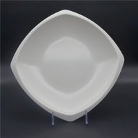 Wholesale White Impact resistant Melamine Dishes Cheap Non toxic Microwavable Plates with No Flavor No Pollution Design for Sale M DP001
