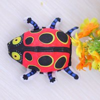 american dog toy - 12PCS Wholeasle New Pets Toys Good For Dog And Cat American Fatcat Ladybug Toy Dog Toy Dog Training Toys Molar And Environmental CM