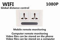 Wholesale Newest HD P Wifi Spy Camera Socket H Format P2P Hidden Socket Camera Mini Camcorder Video Recorder Cam