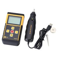 Wholesale Portable Digital Vibrometer Vibration Analyzer Tester Temperature Meter with LCD Backlight Maximum Value Hold Function order lt no track