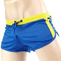 best mens swimsuits - Sexy Men s Swimming Trunks Best Quality Mens Swimwear Trunks Low Waist Swimwear Boxer Shorts Swimsuit