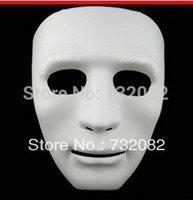 Wholesale High quality Blank Male dancing full face BBOY HIPHOP Mask Plain White black