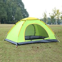 Wholesale Hot Sales People Supply Folding Water proof Double Tent Outdoor Hiking Beach Camping Tourism Tents MA0122 kevinstyle