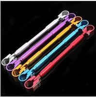 Wholesale DIY Motorcycle Strengthen Hand Lever Head Balance Aluminum Alloy Cross Bar colors choice