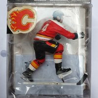 best nhl - Animation Garage Kid Collection Toys McFarlane Action Figure PVC Dolls NHL Ice Hockey Player Theoren Fleury Model Best Gifts